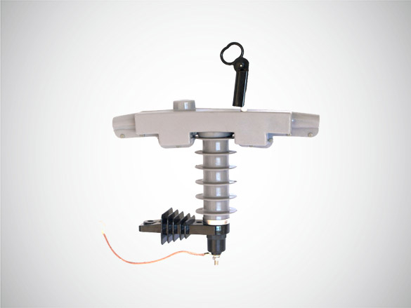 HY5WBG-17/150(10KV)带支架高压避雷器